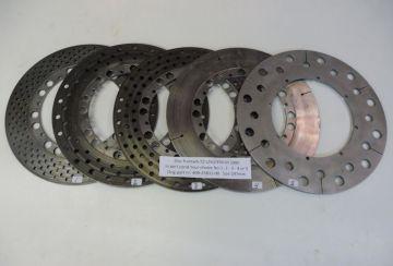 409-25831-00 Disc frontwheel TZ250/TZ350250-350 till 1980 used