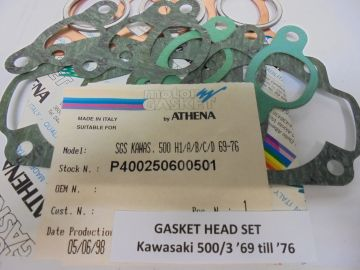 Gasket,top set Kaw.500-3 two stroke