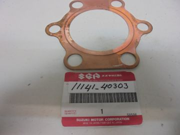 11141-40303 Gasket base cylinder RM250