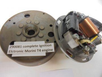 Morini T4 290081 Compl.electr.ign moped.