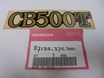 87125-375-300 Emblem cover Honda CB500T'76 up