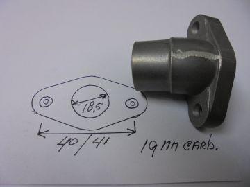 60.217.0 Pipe inlet carb.Morini /Miarelli 50cc moped