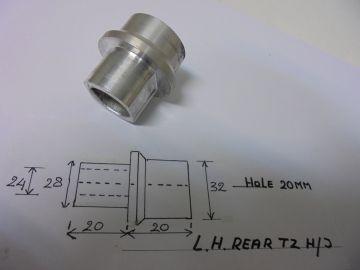 90387-205E0 Collar wh.shaft rear L.H.Yam.TZ'sH/J