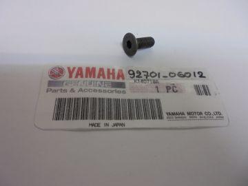 92701-06012 Screw, bearing plate(flat head)Yam.TZ250'80up