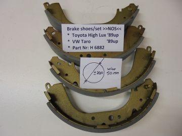 H 6882 Brake shoe/set Toyota High Lux/VW Taro'89 up