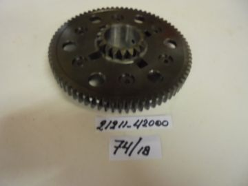 21211-42000 Gear prim.clutch 74T/18T Suz.RG500 racing new