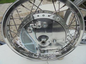 Wheel front assy Yamaha TD2-3/TR2-3/TZ250/TZ350 A/B Racing 1968-1974