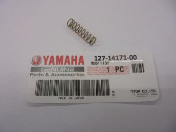 127-14171-00 Spring,plunger choke Yam.mikuni