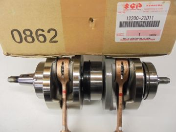 12200-22D11 Crankshaft assy compl.Suz.RGV250 & Apr.RS250 >>NEW