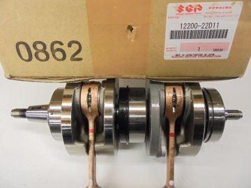 12200-22D11 Crankshaft assy compl.Suz.RGV250 and Aprillia RS250 1991 - 1995 >NEW