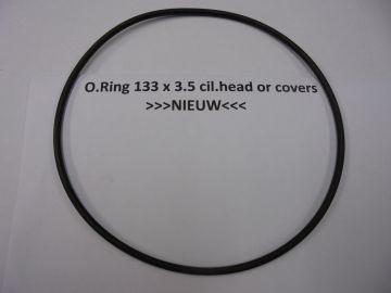 O.ring 133x3.5mm Hon./Yam./Kaw./Suz./Min./Apr./KTM/etc.