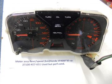 37100-KE7-651 Meter assy revc/speed Honda VF400F'83up