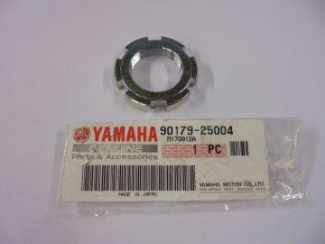 90179-25004 Nut front fork yoke Yamaha. '67 up