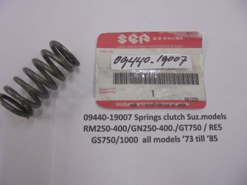 09440-19007 Spring clutch many Suz.models'73 up