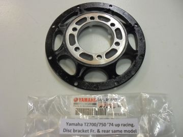 341-25832-01 Bracket disc front & rear TZ700/750/TX750 and poss.L.H.and R.H.TZ's till 82