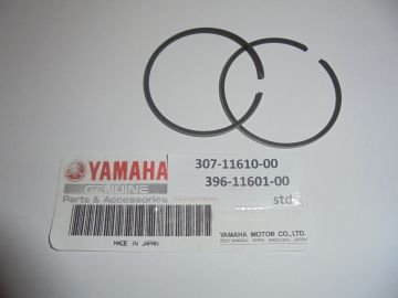 307-11610-00/396-11601-00 Ring/set piston std Yam AS1-3 & RD125