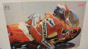 Poster Kenny Roberts & Randy Memola in perf conditions