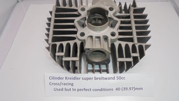 Cilinder,breitwand Kreidler motocross/racing 50cc 40mm perfect.
