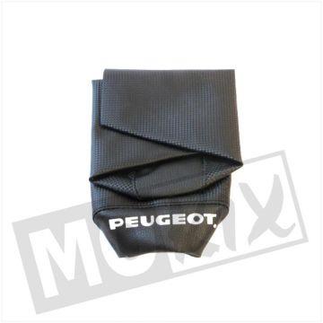 SEAT COVER PEUGEOT FOX SHORT CARBON/BLACK
