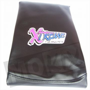 SEAT COVER HONDA WALLAROO CARBON/BLACK XTREME