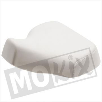 SADDLE-COVER  PEUGEOT 103 WHITE