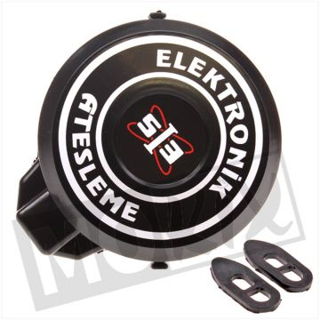 FLYWHEEL COVER PEUGEOT 103 ELECTRONIC PVC BLACK
