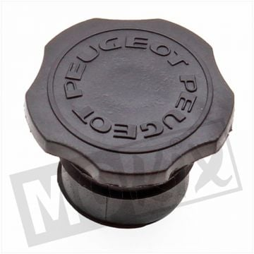 TANK CAP PEUGEOT 103 30mm BLACK