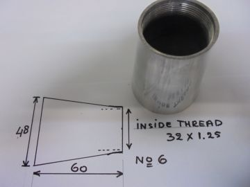Inlet air conisch fitt to Carburetors Minarelli/Morini etc.