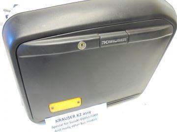 Krauser K2 bag for motorcyle 46ltr L.H.>New in black