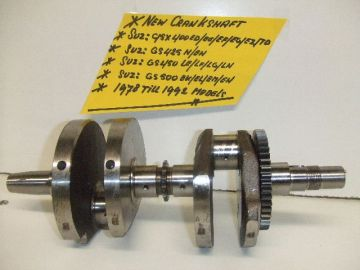 12220-44101 Crankshaft Suz.GS400-425-450-500 & GSX400E >new