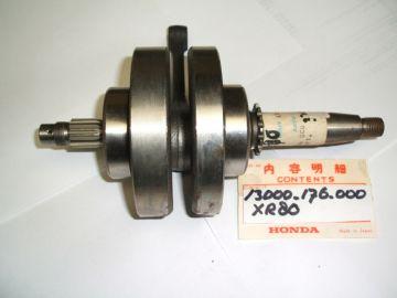 13000-176-000 / possible GT9-000 & GN1-A40 Crankshaft assy XR80