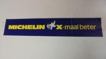 Emblem >MICHELIN< 75 x 15 cm NEW