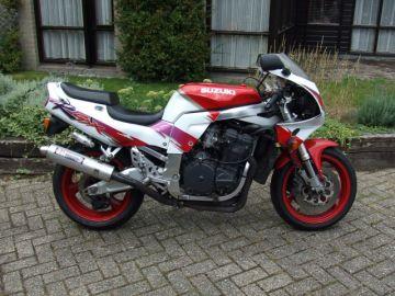 Motorbike Suzuki GSX-R750W 1992 in running condition