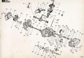 Motori Minarelli G1 50cc Automatic Engine