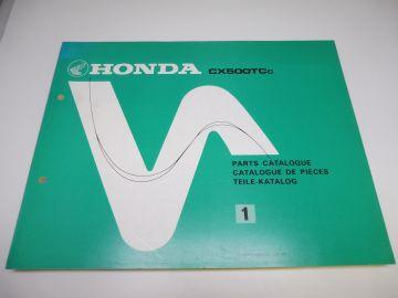 New partbook Honda CX500 TCC