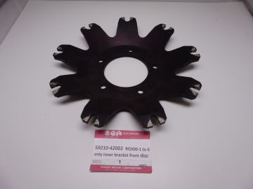59210-42002 Disc(only inner bracket front Suz.RG500-1 till 6