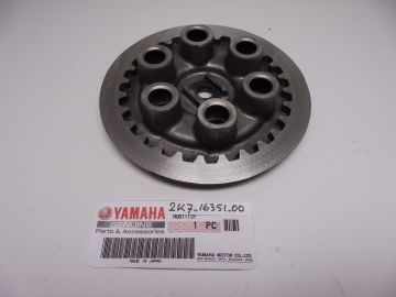2K7-16351-00 Plate, pressure (1) Yamaha TZ250 H-J-K-L /YZ250 / IT250 used but good condition