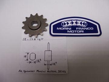 23.2508.14 Sprocket front 14T Morini Franko 50cc autom.S5 K2 >New