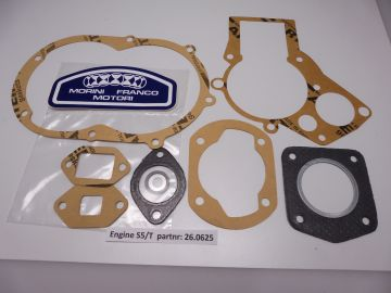26.0625 Gasket assy complete Morini Franco S5.T autom.50cc untill 2001