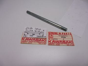 172G08115 Bolt cil.Kaw.KD80/KX80S1/S2 ' 72 up