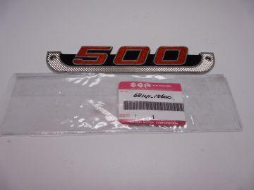 68141-15600 Emblem Suz.T500 J-K-L models std roadbike '70 up