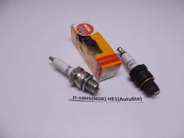 D10HS (NGK) HE 1 (Motocraft) same heat range spark plug(bougie)