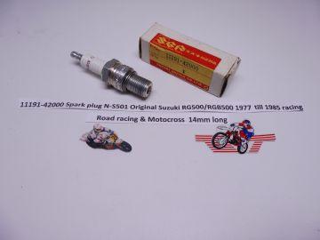 11191-42000 Spark plug N-S501 Orig.Suz.RG500/RGB500 racing