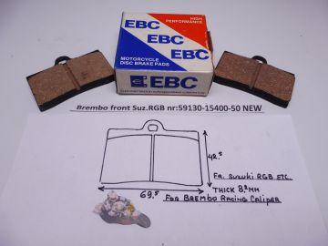 59130-15400-50 Brake pad set front (brembo) RG500/RGB500