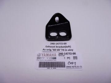 240-14772-00 Stay muffler L.H. rear TD/TR / TZ A/B