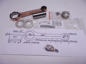 183-11651-00 Rod assy Yamaha AS1 / AS2 / AS3 / RD125 / TA125