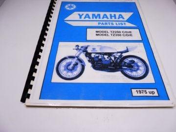 Partsbook TZ250/TZ350 C/D/E