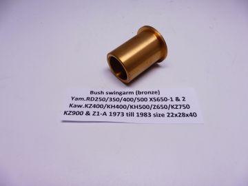 90386-22018 Bushing swingarm RD250/RD350/RD400/RD500/XS650/X1/X2