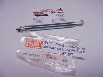 409-14683-00/409-14684-00 Spring ass'y exhaust TZ125 / TZ750 1974 -1978