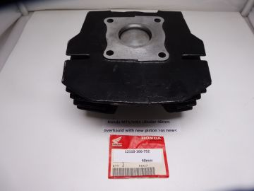 12110-166-752 Cilinder ass'y with new piston Honda MT5/MB5 moped as new>overhauld< 40mm
